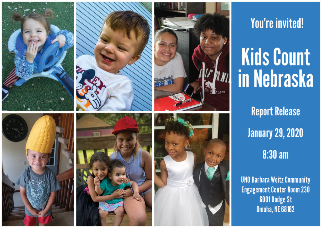 Join us at the 2019 Kids Count in Nebraska Report Release
